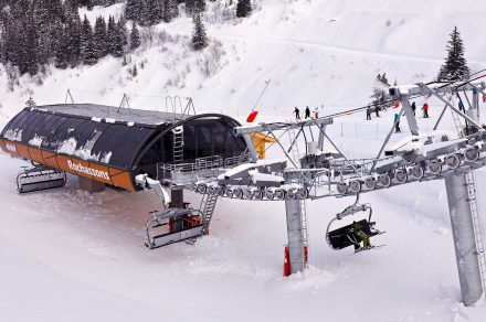 Rochassons chairlift