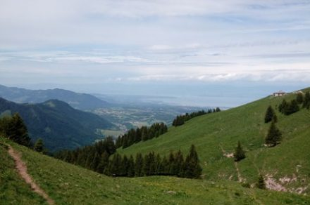 Hike : from chalets to alpine pastures